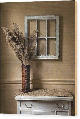 Window To Nowhere Wood Print