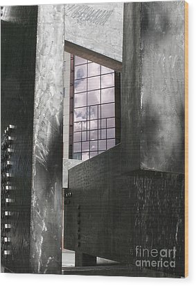Window To The Sky Wood Print by Keith Dillon