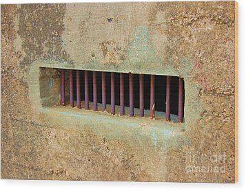 Window To The World Wood Print by Debbi Granruth