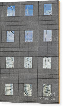 Wood Print featuring the photograph Windows Of 2 World Financial Center   by Sarah Loft