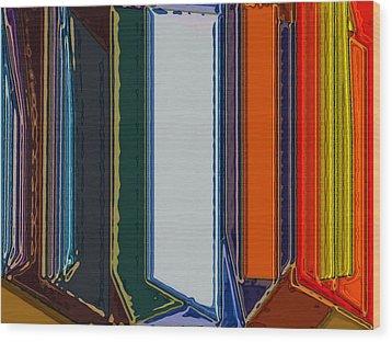 Windows Wood Print by Patrick Guidato
