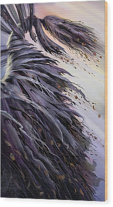 Winds Of Change Wood Print by Philip Straub