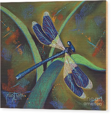 Winds Of Change Wood Print by Tracy L Teeter