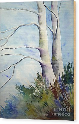 Winds Of Provence Wood Print by Joanne Smoley