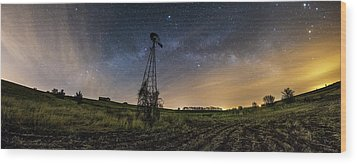 Wood Print featuring the photograph Winds Of Time by Aaron J Groen