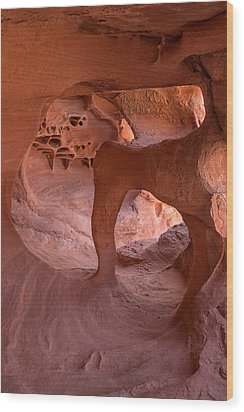 Wood Print featuring the photograph Windstone Arch by Patricia Davidson