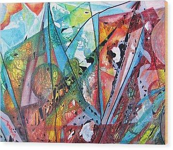 Windswept Wood Print by David Raderstorf