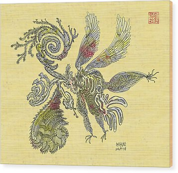 Wing Wood Print