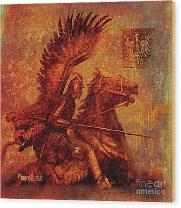 Winged Hussar 2016 Wood Print