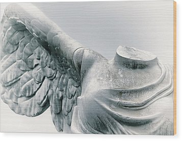 Winged Victory Wood Print
