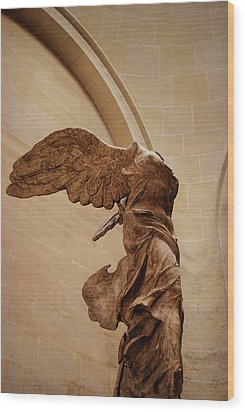 Winged Victory Wood Print by JAMART Photography