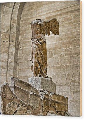 Winged Victory Wood Print by Jon Berghoff