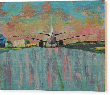 Wingspan  Wood Print