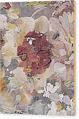 Winter Bouquet Wood Print by Nancy Kane Chapman