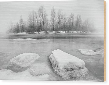 Wood Print featuring the photograph Winter by Davorin Mance
