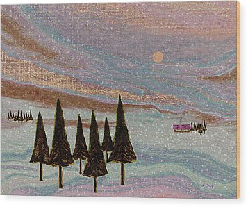 Winter Dream Wood Print by Gordon Beck