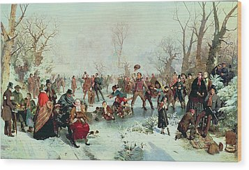 Winter In Saint James's Park Wood Print by John Ritchie