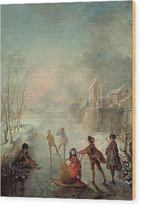 Winter Wood Print by Jacques de Lajoue