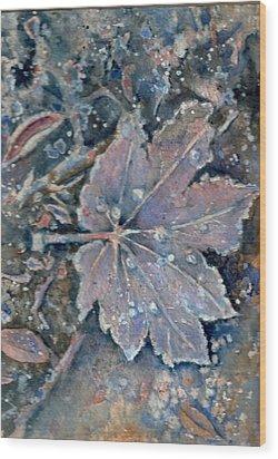 Winter Morn Wood Print by KC Winters