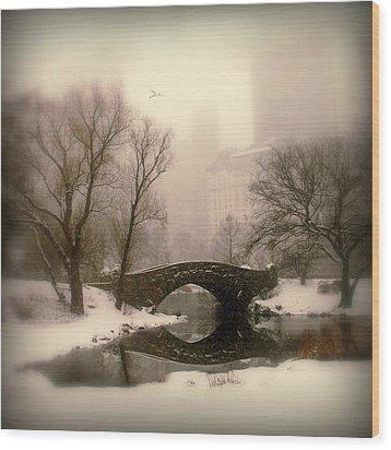 Winter Nostalgia Wood Print