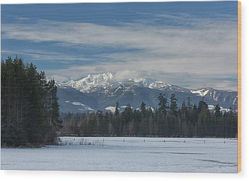 Wood Print featuring the photograph Winter by Randy Hall