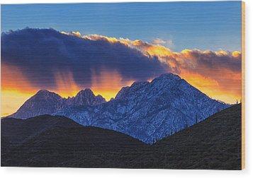 Sudden Splendor Wood Print by Rick Furmanek