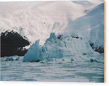 Winter Soltice Alaska  Wood Print by Judyann Matthews