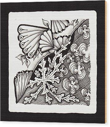 Winter Spring Summer 'n Fall Wood Print by Jan Steinle