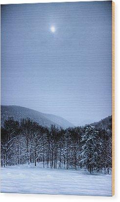 Winter Sun Wood Print