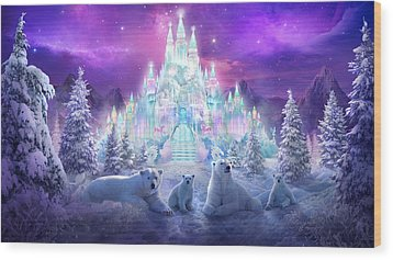 Winter Wonderland Wood Print by Philip Straub