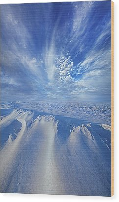 Wood Print featuring the photograph Winter's Hue by Phil Koch