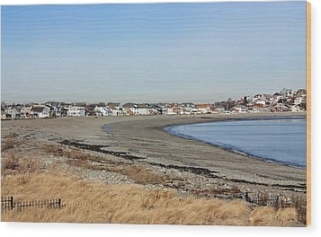 Winthrop Ma Wood Print by Becca Brann