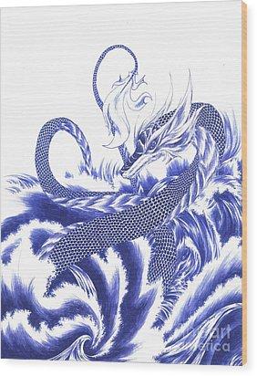 Wisdom Wood Print by Alice Chen