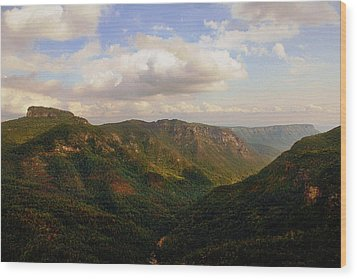Wood Print featuring the photograph Wiseman's View by Jessica Brawley