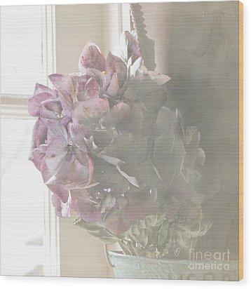 Wistful Wood Print by Cindy Garber Iverson