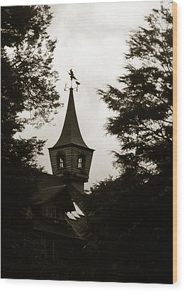 Witch House Wood Print