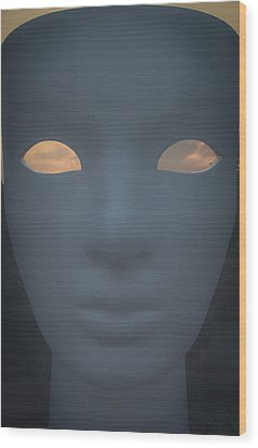 With The Sky In The Eyes Wood Print by Cesare Bargiggia