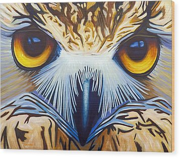 Within Wood Print by Brian  Commerford