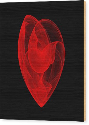 Within Shell II Wood Print