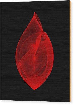 Within Shell IIi Wood Print