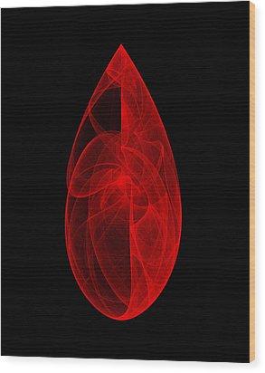 Within Stone IIi Wood Print