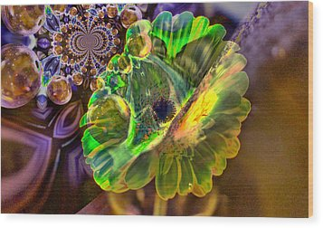 Wood Print featuring the photograph Within The Mind Meld by Jeff Swan
