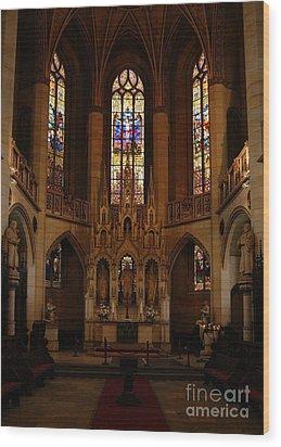 Wittenberg Castle Church 5 Wood Print