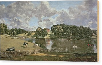 Wivenhoe Park Wood Print by John Constable