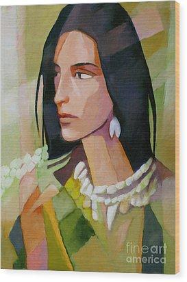 Woman 2006 Wood Print by Lutz Baar