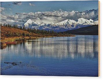 Wonder Lake IIi Wood Print by Rick Berk