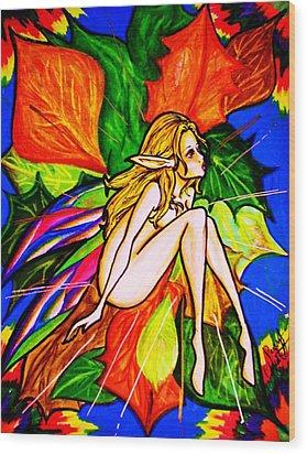 Wonder Wood Print by Penny  Elliott