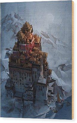 Wonders Holy Temple Wood Print
