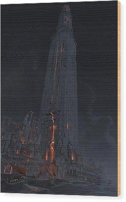Wonders Lighthouse Of Alxendria Wood Print