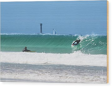Wood Print featuring the photograph Wonderwall by Terri Waters